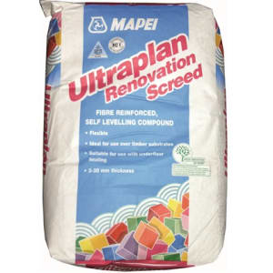 Mapei Ultraplan Renovation Wood Flooring Screed