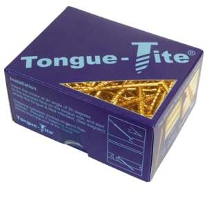 Tongue-Tite R2 Screws 3.5x45mm for Wood Flooring (5 Pack)