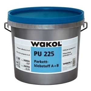 Wakol 2K PU225 Wood Flooring Adhesive 6.75kg