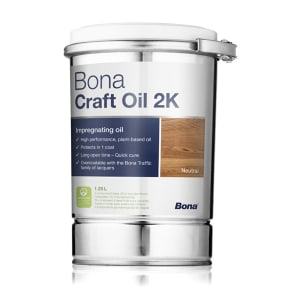 Bona Craft Oil 2k Light Grey 1.25L