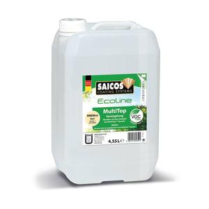 Saicos MultiTop Ecoline Lacquer MATT Lacquer 4.5L - 9985 (1L=9m2 Coat)