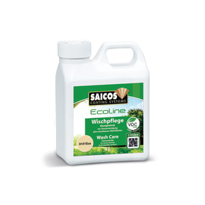 Saicos Ecoline Wooden Flooring Wash Care 1L 8101 Concentrate