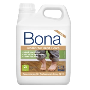 Bona Oiled Floor Cleaner 2.5L Refill for Spray