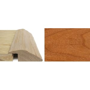 Cherry Ramp Bar Flooring Profile 15mm Rebate Solid Hardwood 2.4m