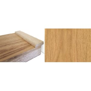 Solid Oak 22mm Flat Strip 1.0-mtr