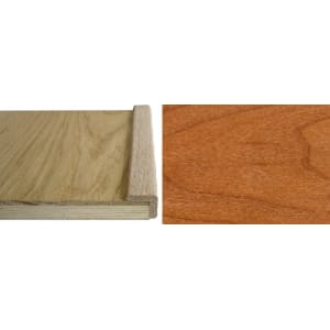 Cherry  Solid Hardwood 19mm L-Quadrant 2.4m for Flooring