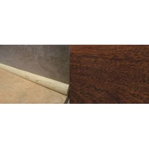 Merbau 19mm Solid Hardwood Quadrant 2.44m for Flooring
