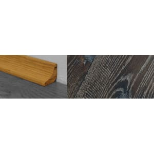 Foundry Stained Solid Oak Scotia 2.7m for Flooring