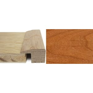 Cherry Square Edge Soild Hardwood Flooring Profile Solid Wood 15mm 2.4m
