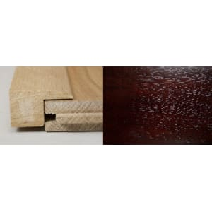 Dark Walnut Square Edge Soild Hardwood Flooring Profile 1m
