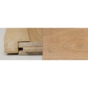 White Wash Stained Square Edge Solid Hardwood Flooring Profile 1m