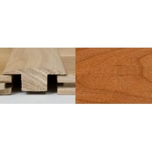 Cherry Stain T-Bar Profile Soild Hardwood 2m