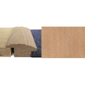 Beech Wood to Carpet Profile Soild Hardwood 15mm Rebate 2.7m
