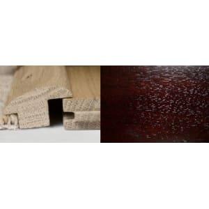 Dark Walnut Wood to Carpet Profile Soild Hardwood 1m