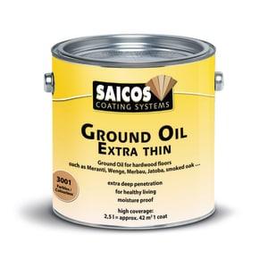 Saicos Clear Extra Thin Wood Flooring Wax 2.5L
