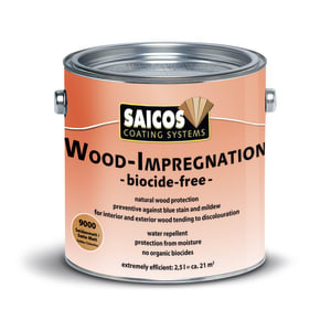 Saicos Wood Impregnation Satin Matt Wood Flooring Oil 2.5L