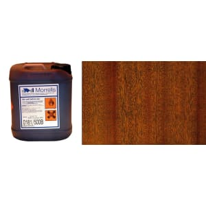 Morrells Light Fast Stain 5L Natural Mahogany Wood Flooring Stain 0181/100 (1L=8m2 per coat)