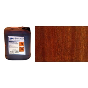 Morrells Light Fast Stain 5L Dark-Rich Mahogany Wood Flooring Stain  0181/300 (1L=8m2 per coat)