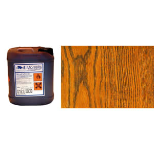 Morrells Light Fast Stain 5L Golden Oak Wood Flooring Stain  0182/000 (1L=8m2 per coat)