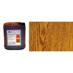 Morrells Light Fast Stain 5L New Light Oak Wood Flooring Stain 0182/100 (1L=8m2 per coat)