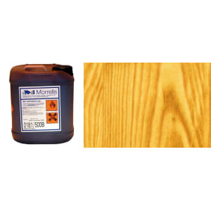 Morrells Light Fast Stain 5L Antique Pine Wood Flooring Stain 0198/000 (1L=8m2 per coat)