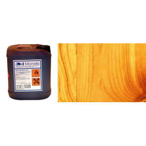 Morrells Light Fast Stain 5L Honey Pine Wood Flooring Stain  0198/100 (1L=8m2 per coat)