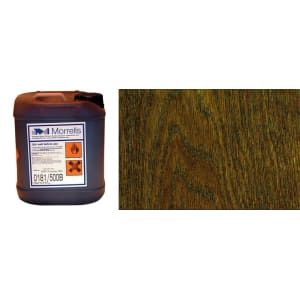 Morrells Light Fast Stain 5L Jacobean Oak Wood Flooring Stain 0182/400 (1L=8m2 per coat)