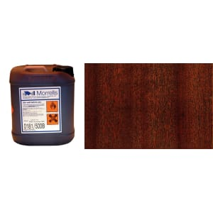 Morrells Light Fast Stain 5L Antique Mahogany Wood Flooring Stain 0181/600 (1L=8m2 per coat)