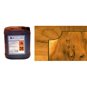 Morrells Light Fast Stain 5L Antique Yew Wood Flooring Stain 0181/100(1L=8m2 per coat)