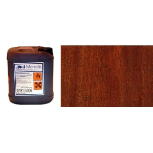 Morrells Light Fast Stain 5L Repro Mahogany Wood Flooring Stain (1L=8m2 per coat)
