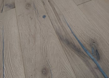Eldorado Forest Burnt and Stained Oak Brushed Multi-Width Engineered Hardwood Flooring