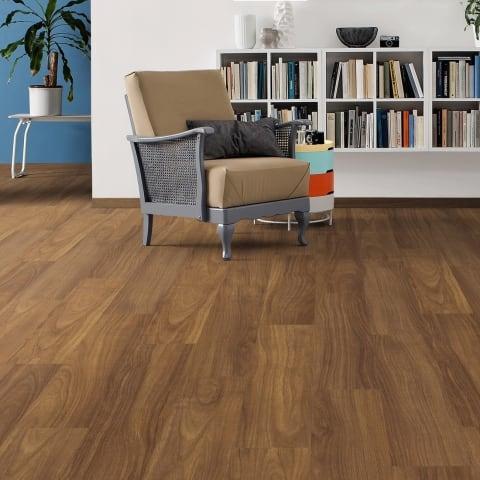 Iroko Lacquered Solid Hardwood Flooring