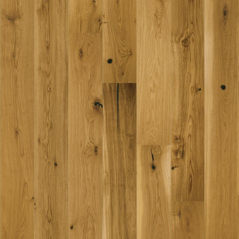 Natural Brushed Oak 14mm Matt Lacquered Engineered Wood Flooring