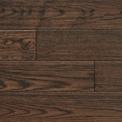 Antique Stained Oak Hand Scraped Hardwood Solid Flooring