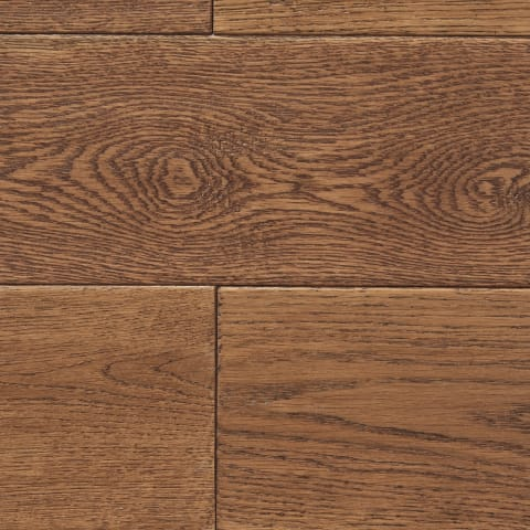 Wheat Stained Oak Hand-scraped Hardwood Solid Flooring