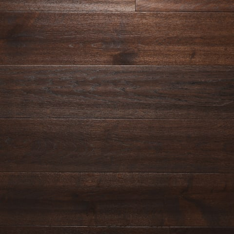 Chocolate Stained Oiled Oak Hand Scraped Hardwood