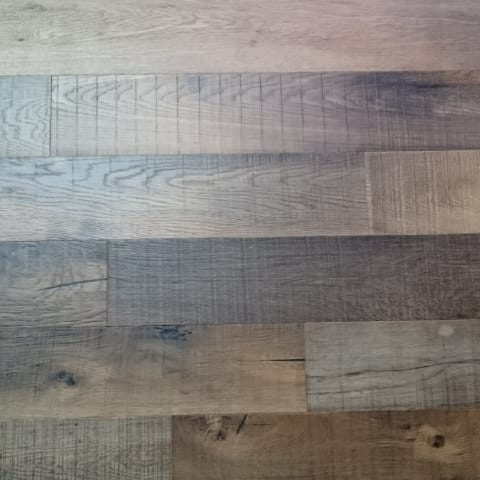 Sawmill Oak Lacquered Brushed Distressed Hardwood Flooring