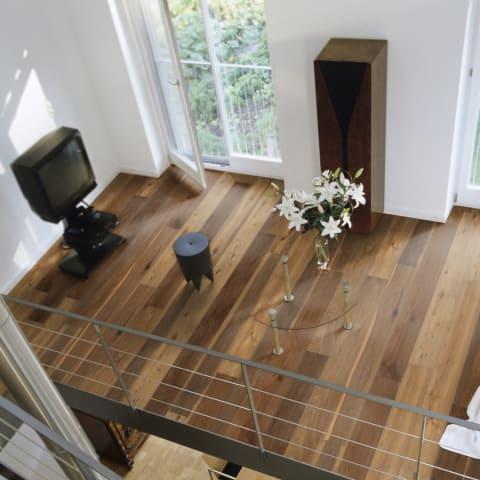 Maine Smoked Oak Rustic Heavy Brushed Oiled Handscraped Engineered Hardwood Flooring