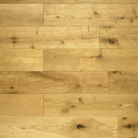 Oak Brushed & UV Oiled 150mm Engineered Hardwood Flooring