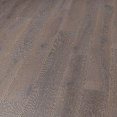 Slate Stained Oak Brushed Oiled Engineered Hardwood Flooring