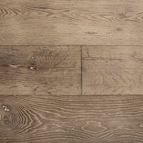 Bastogne Stained Oak Weathered Oiled Engineered Hardwood Flooring