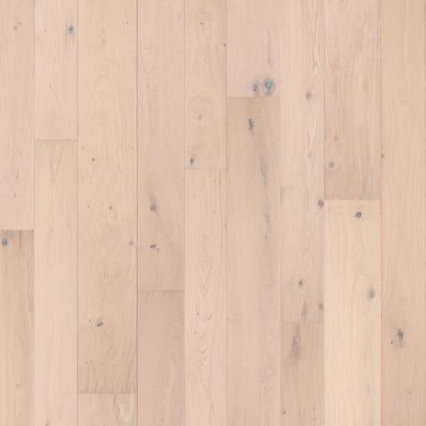 Haarlem White Rustic Brushed Oiled Oak Dual-Width Engineered Hardwood Flooring