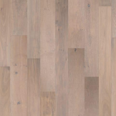 Amersfoort Smoked White Rustic Brushed Oiled Oak Dual-Width Engineered Hardwood Flooring