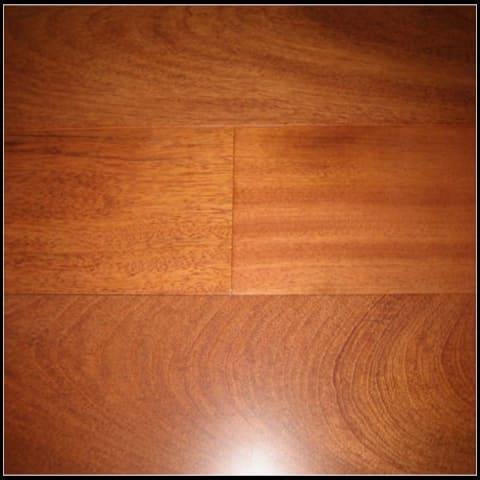 Jatoba (Brazilian Cherry) Lacquered Solid Hardwood Flooring