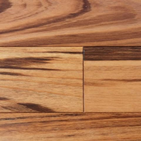 Tigerwood Solid Hardwood Flooring (Zebrawood)