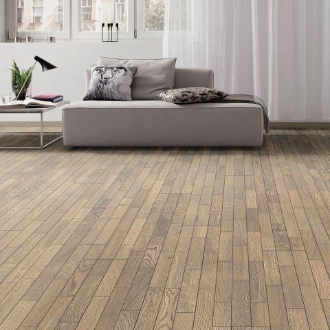 Maritime Grey Oak 3D Brushed Oiled Engineered Hardwood Flooring