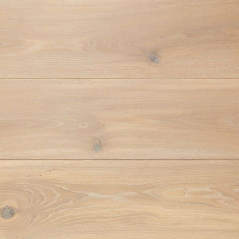 Blanco Brushed Oak LED Oiled Wide Board Engineered Hardwood Flooring