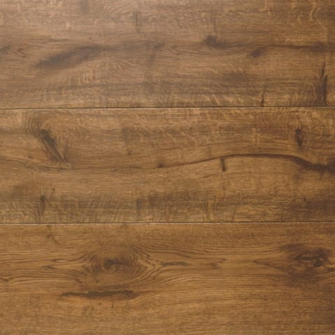 African Walnut Oak LED Oiled Wide Board Engineered Hardwood Flooring