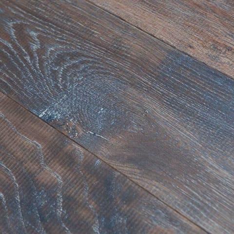 Tanner Brown Oak Distressed & UV Oiled Oak Engineered Wood Flooring