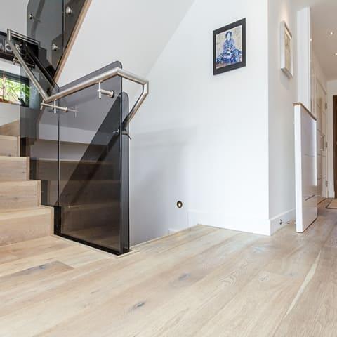 Lime Kiln White Oak Embossed & Hard Wax Oiled Engineered Hardwood Flooring